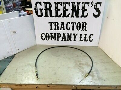 FOOT THROTTLE CABLE CASE VARIOUS SEE LISTING IH TRACTORS