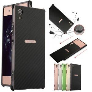 huge discount 48b2d 0a8d2 For Sony Xperia L2/XA2/Ultra phone case aluminum bumper shockproof ...