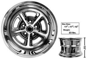 """New 1965-1973 Ford MUSTANG Magnum 500 Wheel Center Caps Chrome 2 1//8/"""" size each"""