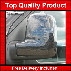 Vw Caddy 2004 2015 Carbon Effect Door Wing Mirror Covers