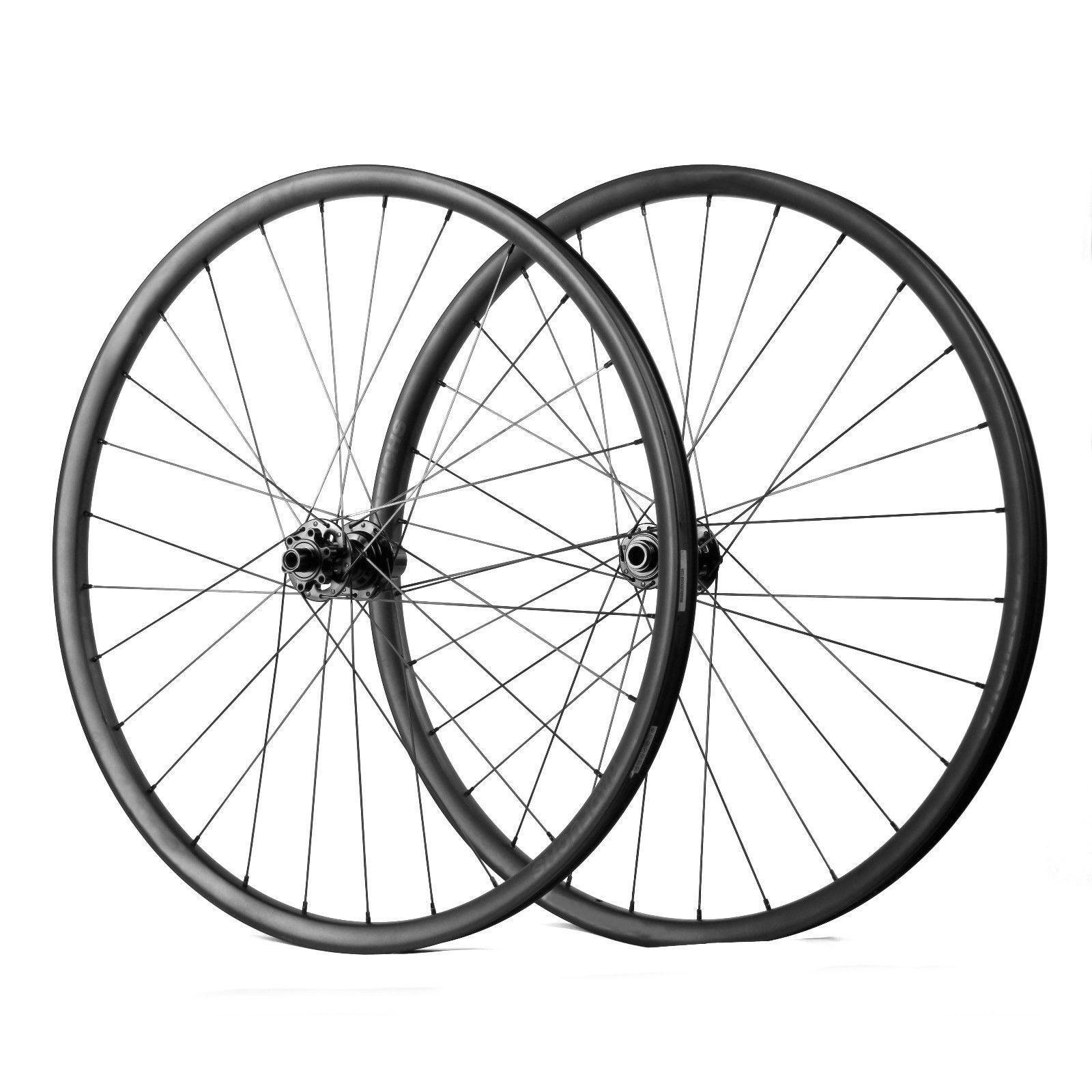 27.5er plus Carbon wheelset 42mm width mountain bike tubeless Sram  XD cassette  happy shopping