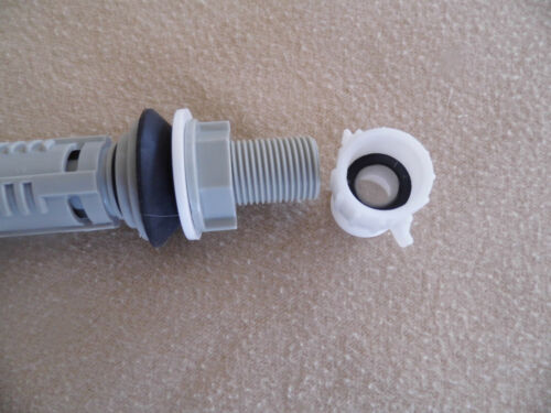 Built in Screen to Strain /& Filter. 7//8 Inch Female Pipe Adapter to 7//8 Male