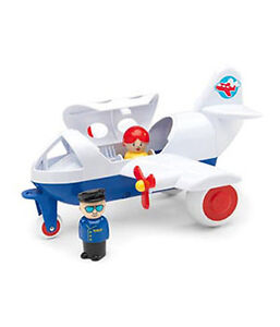NEW VIKING Airline with 2 Figures Developmental Activity Toy for Young Children