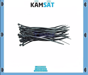 VOREL 73892 plastique bandes 100 x 2,5 mm 100 pièces Black Cable Ties zip
