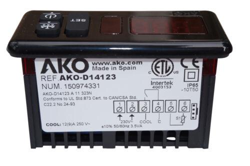 AKO-D14123 230v Industrial Digital Thermostat Controller for Refrigeration