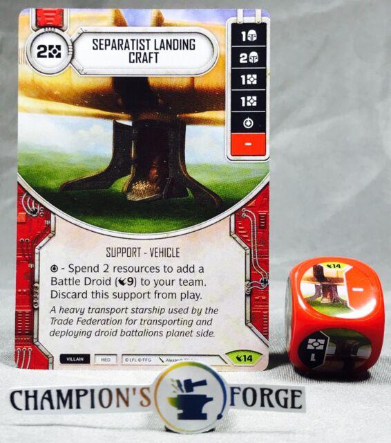 Star Wars Destiny #14 Separatist Landing Craft Legacies