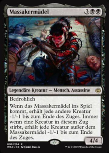 Massakermädel Massacre Girl mint, Krieg der Funken, deutsch