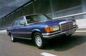 MB-W116-350SE-450SE-280SE-450SEL-450SEL6-9-Cuero-Asiento-Funda-Juego-1973-80