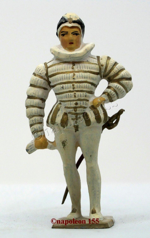 Figurine, Soldat de Plomb Ancien VERTUNNI. Saint Megrin