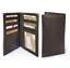 Black-Genuine-Leather-Thin-SLIM-Checkbook-Cover-Holder-Plain-Wallet-U-S-Seller thumbnail 8
