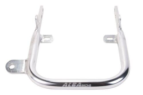 Yamaha Warrior 350  Grab Bar  Rear Bumper Aluminum  Alba Racing Silver  210 T5 S