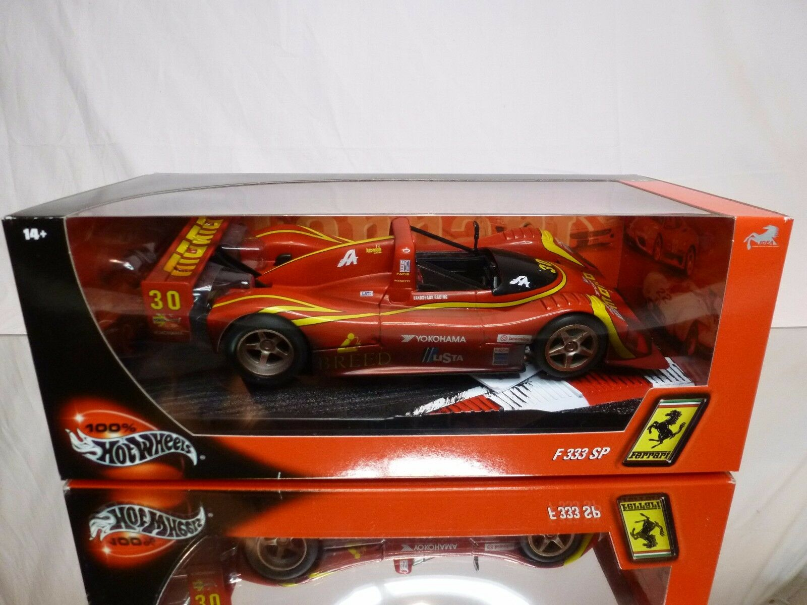 HOT WHEELS 29750 FERRARI F333 SP 30 - MOMO  - Rojo  - EXCELLENT IN BOX