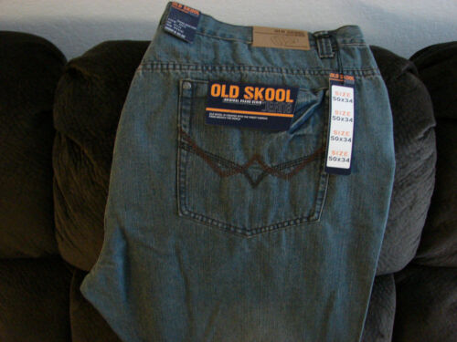 Men's 50x34 Old tall Skool Classic Fit 50x34 Jeans Jeans Grand Size Men's Fit Skool Old Taille Big Grand Classique 5BqSUwnx1