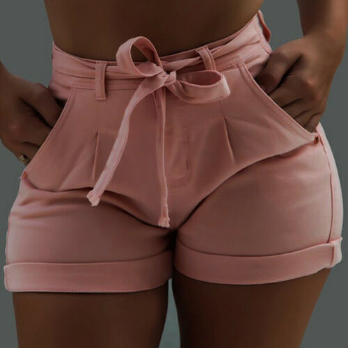 HOT Women High Waisted Denim Jeans Shorts Summer Casual Stretch Hot Short Pants