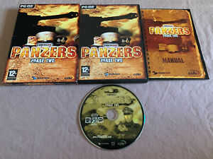 Codename-Panzers-Phase-Two-PC-Computer-DVD-ROM-Video-Game-COMPLETE-in-Case