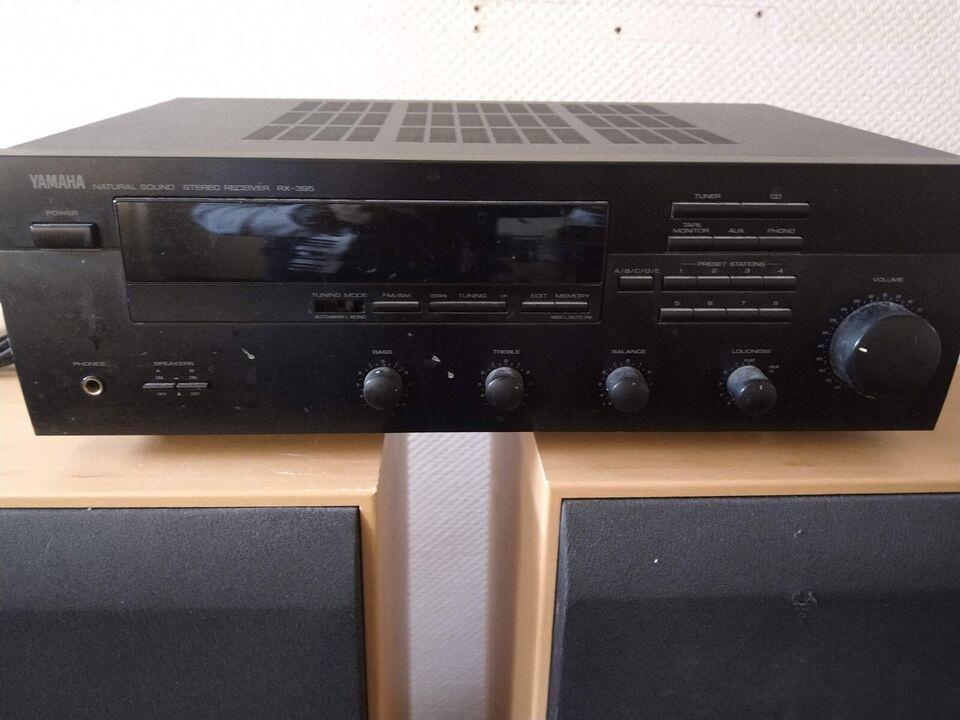 Receiver, Yamaha, Rx-395