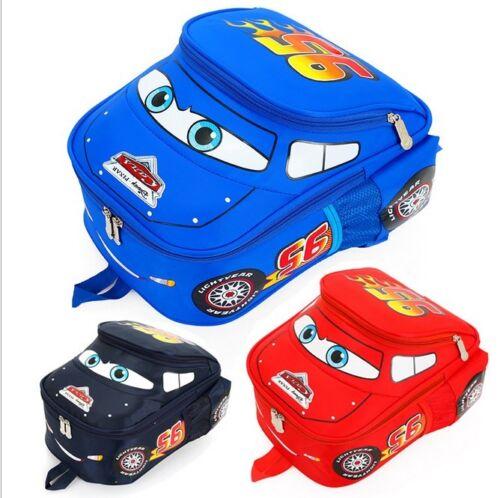 Cute Kindergarten Pupil Boys Baby Kids School Cars Book Bags Backpacks 2-8Years