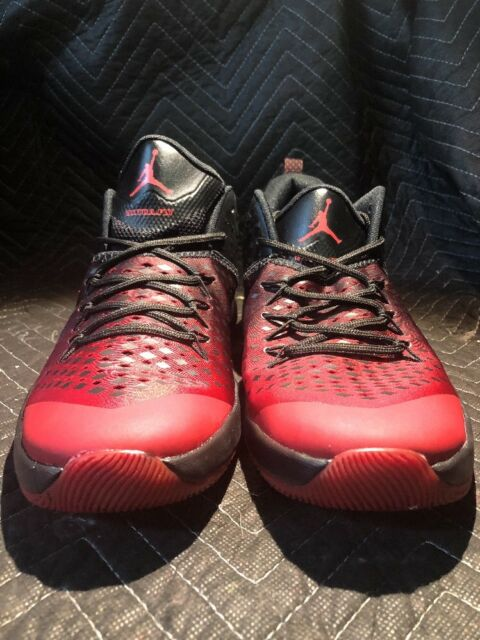 low cost 5bed6 fd04b Jordan Men s Basketball Size 11.5 Extra Fly Red Black authentic 854551-610  New