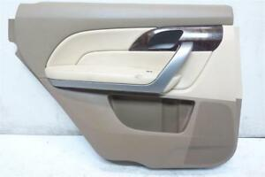 2010-2013 Acura MDX Rear Left Door panel trim liner interior 83781-STX-H02 IVORY