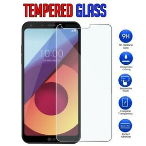 For-LG-Q6-I-G7-ThinQ-Tempered-Glass-LCD-Screen-Protector-Film-Guard