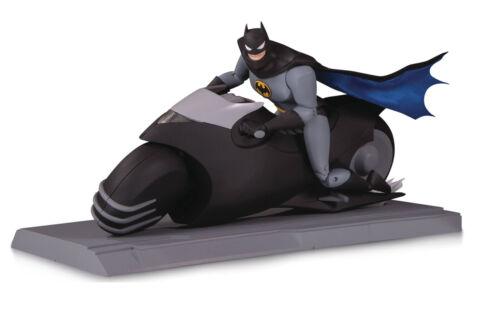 DC Comics Batman Série animée Batman /& Batcycle figurine