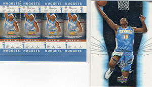Carmelo-Anthony-2-Card-Lot-Upper-Deck-Fleer-Authentix
