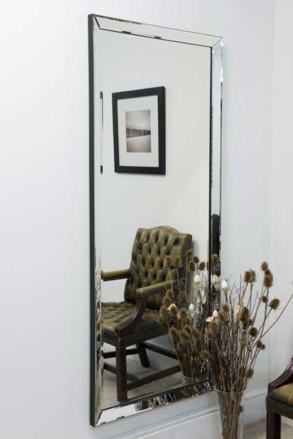 Barcelona Trading Large Single Edge Modern Frameless Big Wall Mirror 5ft10 X For Sale Online Ebay