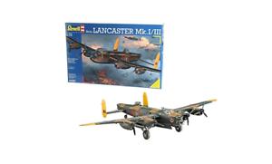 Avro Lancaster Bomber Model Kit Revell RAF Bomber Command Hobby Collector