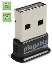 Plugable USB Bluetooth 4.0 Low Energy Micro Adapter (Windows 10, 8, 7, Linux)
