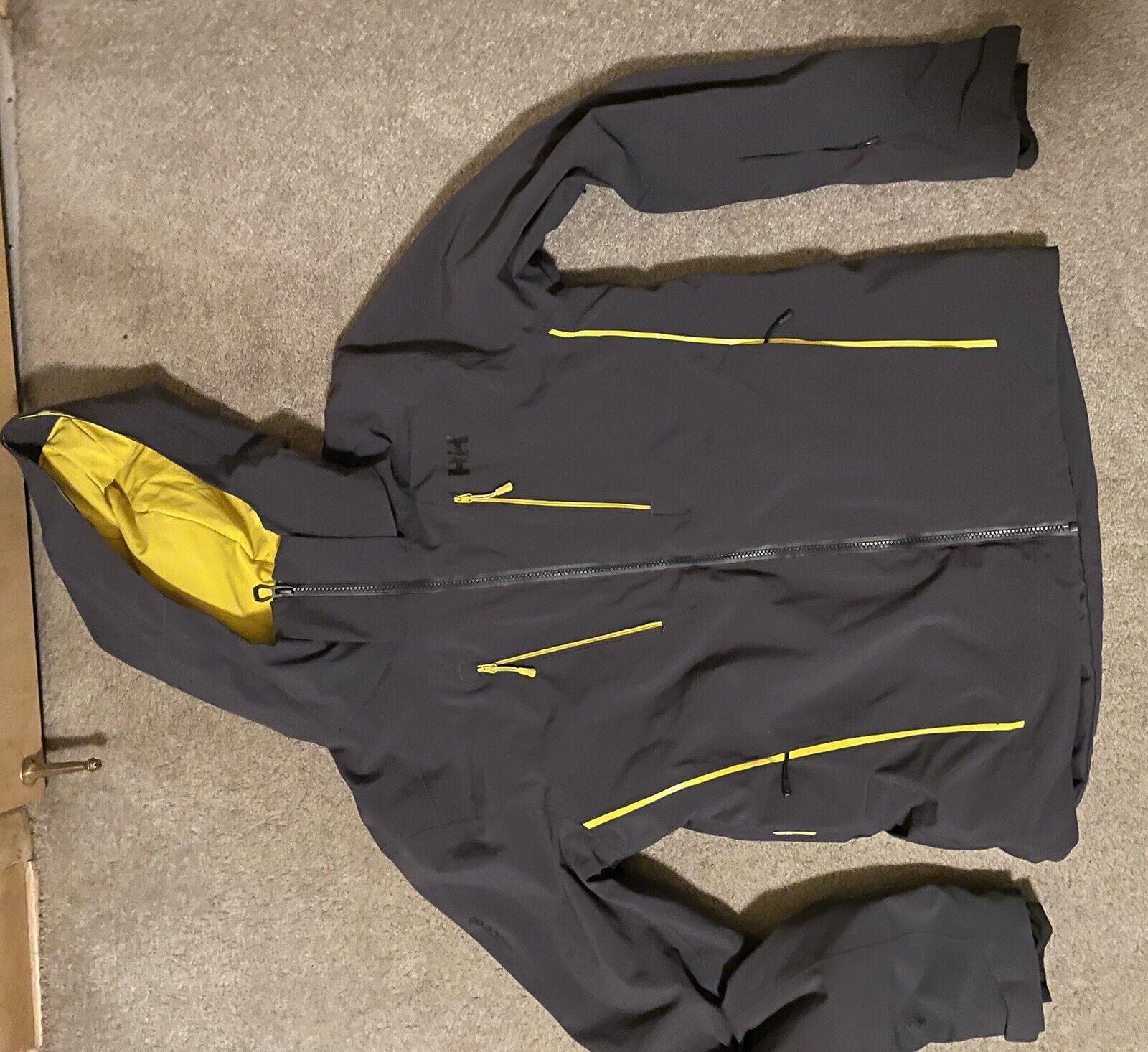 Helly Hansen Alpha 3.0 Men/'s Insulated Ski Jacket 65551//990 Black NEW