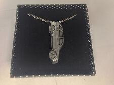 """Bmw X5 ref311 3d Peltre efecto emblema en la plata platino Plateado Collar 18 """""""