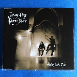 Jimmy-Page-Robert-Plant-SHINING-IN-THE-LIGHT-promo-CD-single-Uk-Led-Zeppelin