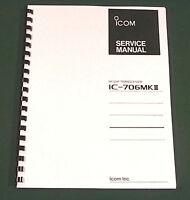 Icom Ic-706mkii Service Manual - Premium Card Stock Covers & 32 Lb Paper