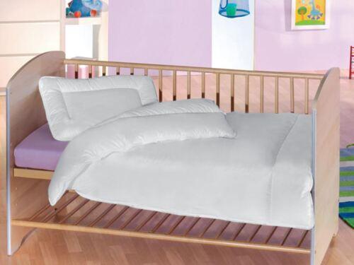 Edredón acolchado de lujo 120x90 CM /& Conjunto De Almohada Para Bebé Cuna 100/% algodón
