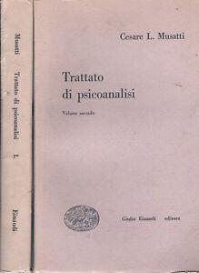 1949-Psicoanalisi-MUSATTI-Cesare-L-TRATTATO-DI-PSICOANALISI-2-volumi