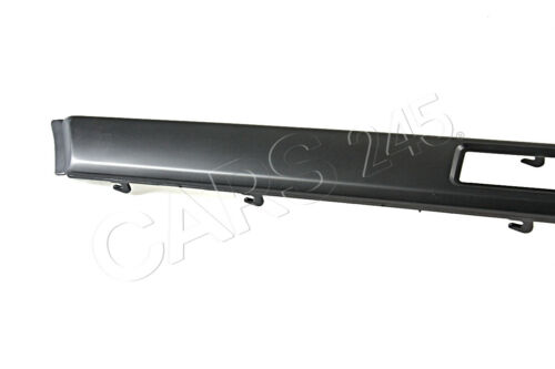 Genuine BMW E34 Sedan Wagon Bumper Impact Strip Left OEM 51121944433