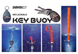 Porte clé auto-gonflable Key Buoy Davis - flottant - bateau - jet ski - voilier