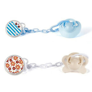 Infant Baby Dummy Pacifier Soother Nipple Chain Clip Holder Toys G