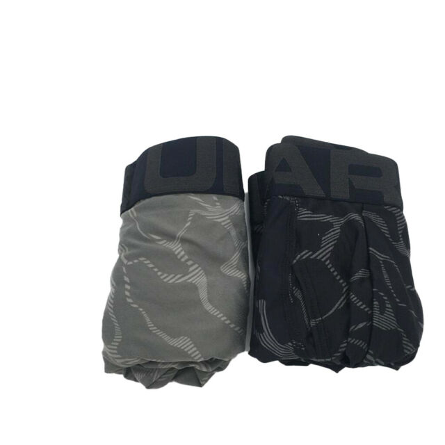 New Under Armour Mens 2-Pack UA Tech 6-inch Boxerjock Briefs Size XL