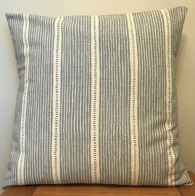Vanessa Arbuthnott **STOCKHOLM STRIPE** Dove//Winter  Cushion Cover 40cm
