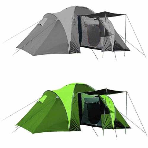 High colorado Costa 4-Personen Tent Dome Tent Family Tent 2 Cabins Festival