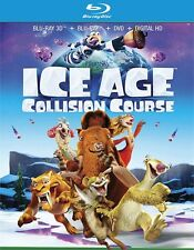 Ice Age: Collision Course (Blu-ray/DVD, 2016, 3D)