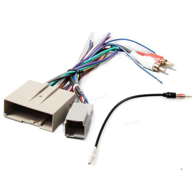 Car Radio Stereo Wire Harness Antenna Adapter For 2008