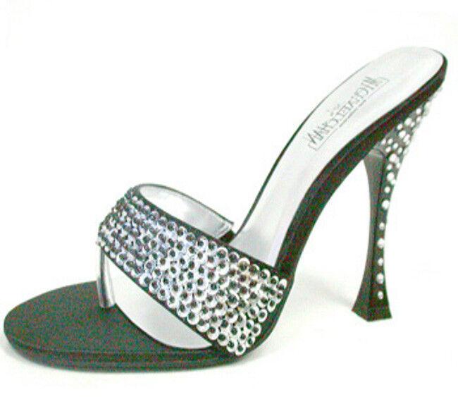 Italy black Diamond Plateau Designer High Heels