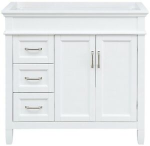 Details About Home Decorators Collection 36 In X 21 75 In Bathroom Vanity Cabinet White