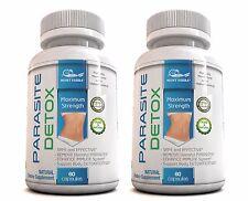 120 PARASITE DETOX/ Complete BODY CLEANSE Complex BROAD Spectrum Anti-PARASITE