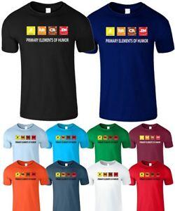 Suivi Des Vols Sarcasme Homme Kids T-shirt Tableau Périodique Des éléments D'humour Drôle T-shirt Blague Tee-afficher Le Titre D'origine