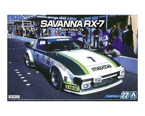 Aoshima 1//24 Mazda Savanna SA22C RX-7 Daytona /'79 # 052297