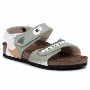 Birkenstock Palu Kids Monster Green Boys Sandals | eBay