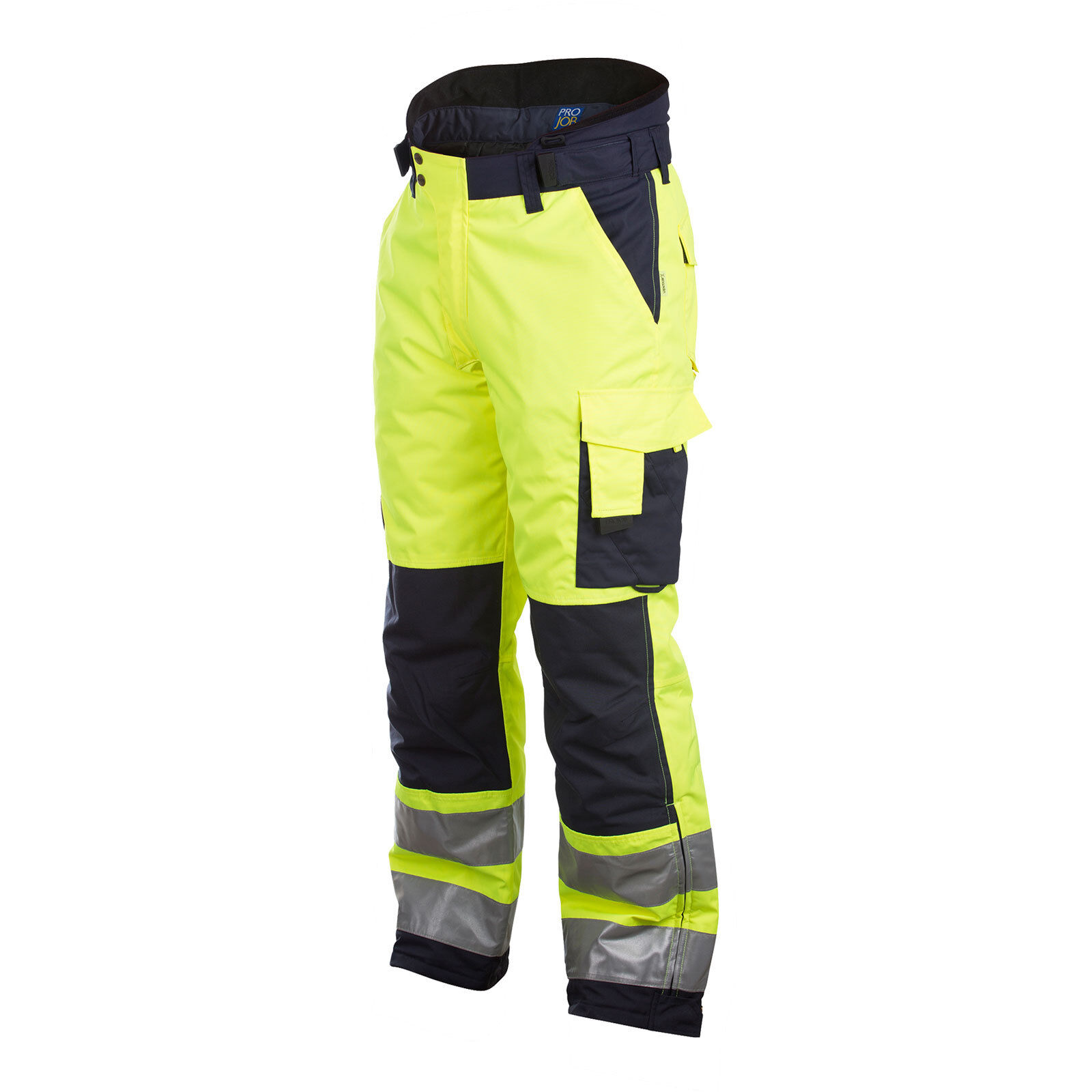 Prossob Hi Vis Pantaloni da lavoro lavoro lavoro imbottito con tasche Knee - 646514 051f2a